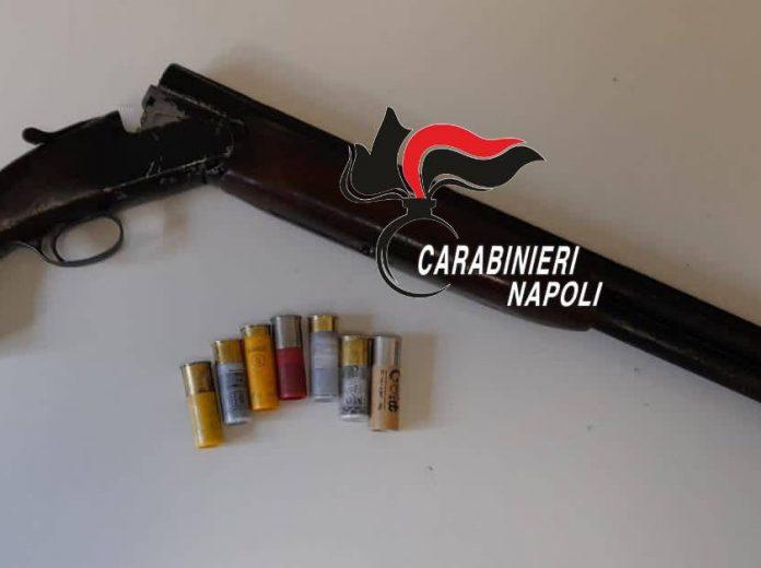 Fucile con matricola abrasa