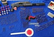Sequestro Armi Carabinieri