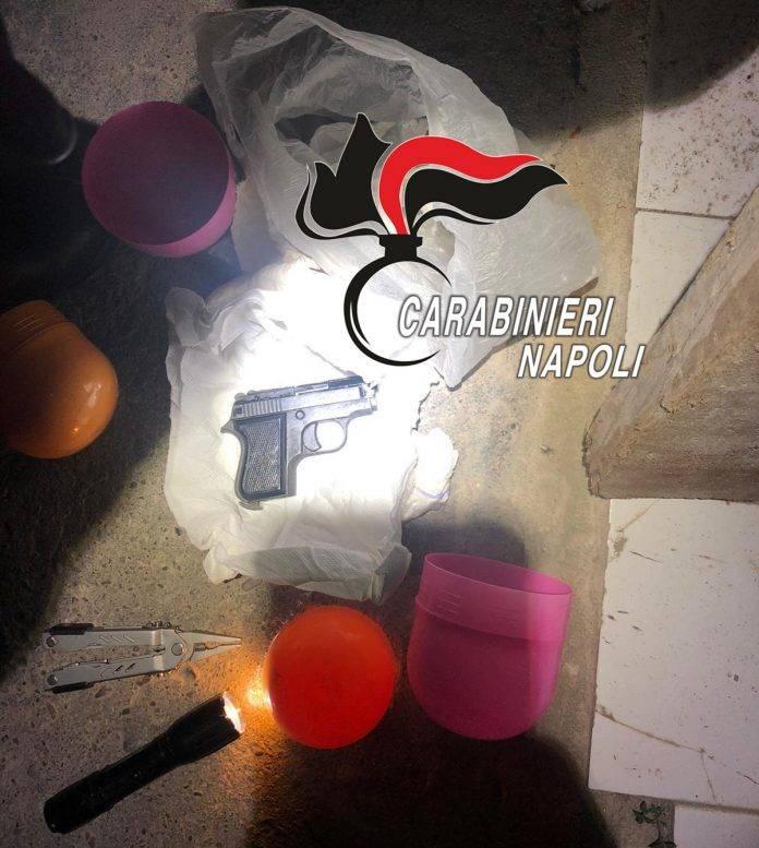 carabinieri pistola uovo pasqua