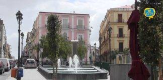torre del greco strade deserte